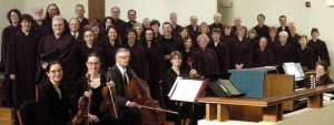 Photo of Festival Choir in robes
