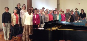 Photo of choir