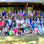Group photo of All Church Camp 2016