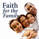 Photo of family with title Faith for the Family