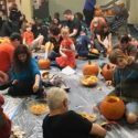 Photo of pumpkin carving