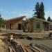 Photo of building progress at Square One-Emerald Village Eugene